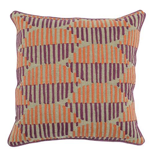 Benjara Benjara Fabric Throw Pillow