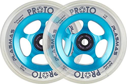 Scooter Proto Plasma Stunt - Ruedas para acrobacias (110 mm), color azul