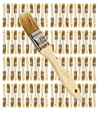 Pro Grade - Chip Paint Brushes - 96 Ea 1 Inch Chip Paint Brush