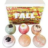 Fall Bath Bomb Set by Soapie Shoppe, Six 5.5...