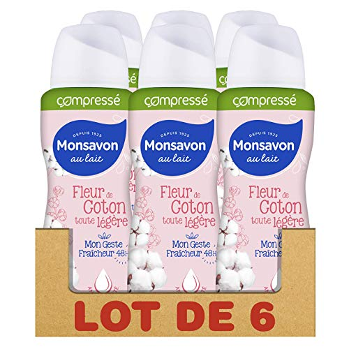 Monsavon Déodorant Anti-Transpirant Femme Spray...