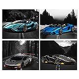 Auto-Poster – Lamborghini-Poster – Aventador, Sian,