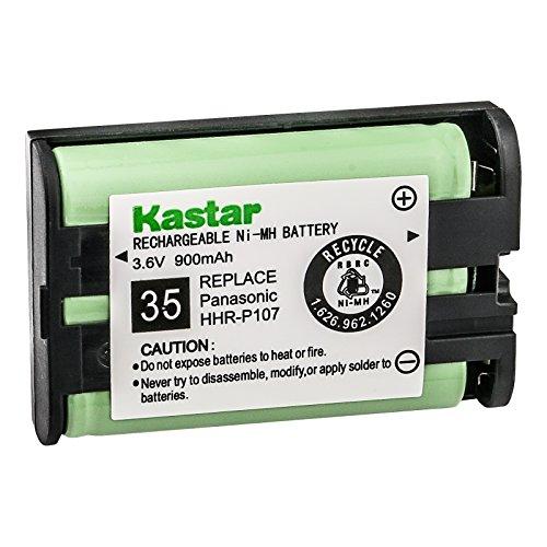 1 X Panasonic KX-TGA600B Cordless Phone Battery 3.6 Volt, Ni-MH 700mAh - Replacement For PANASONIC HHR-P107 Cordless Phone Battery