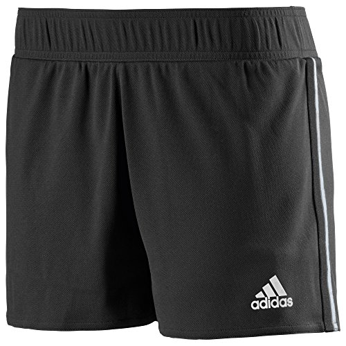 adidas Damen Tennisshorts TS, Schwarz/Weiß, L, Z36151