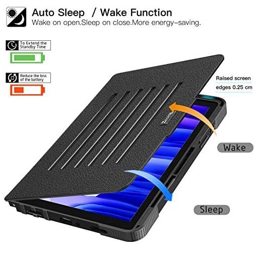 ZtotopCase Funda para Samsung Galaxy Tab A7 de 10,4 Pulgadas 2020, [6 ángulos de Soporte magnético] Funda de protección… 4