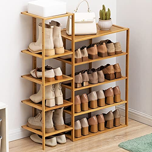 5 Tier Plant A surprise price is realized Stand Shelf Bamboo Display Flower Pots Ranking TOP7 St Shoe Rack
