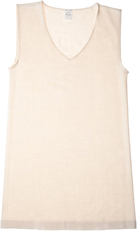 HOCOSA Organic Merino Wool Sleeveless Undershirt for Women