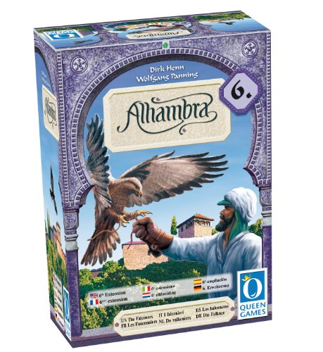Queen Games - Alhambra, Juego de Cartas, de 2 a 6 Jugadores ...