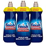 Finish- Brillantante per lavastoviglie Regular Regolare 800 ml (Pack of 3)