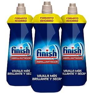 Finish Triplo Abrillantador Lavavajillas - Pack de 3 unidades x 800 ml - 480 lavados