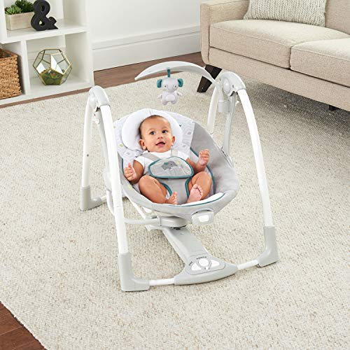 51NdqmErNWL The Best Ingenuity Baby Swings for 2021 [Compared & Review]