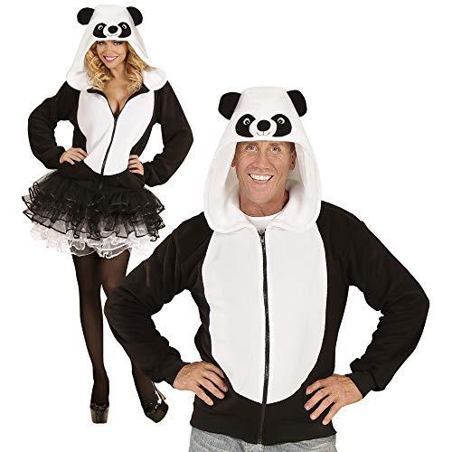 Widmann 07024 ? Adultes Costume Panda, Pull à Capuche