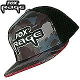 Fox Rage Camo Flat Peak Trucker Cap - Angelcap für Raubfischangler, Cappy, Schirmmütze für...