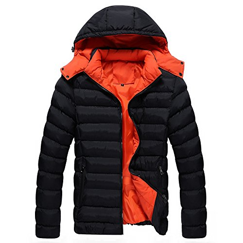 GYXYYF Herenjas Herenjas en Winter Down Jacket Mannen Slim Katoenen pak Heren Mode Warm Jas Man