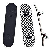 YUDOXN Completo Skateboard para Principiantes, Adolescentes, niños, niñas.31'x 8' Skateboard 7...