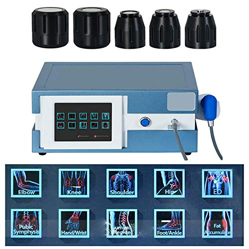Zinnor Extracorporeal Shockwave Therapy Machine Multifunctional Acoustic Shock Wave Maine for Pain Relief and ED, Shipping from US