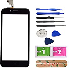 5.0'' Mobile Touch Screen for ZTE Blade L4 Touch Panel for ZTE Blade L4 A460 Touchscreen Sensor Digitizer Panel Front Glass Tools Adhesive ({Type=String, Value=Black})