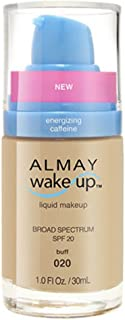 Almay Wake-Up Liquid Makeup, Buff-020