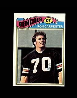1977 Topps Football #168 Ron Carpenter STARX 8 NM/MT OC CS55742