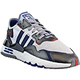 adidas Kids Boys Nite Jogger x Star Wars Big Kids Lace Up Sneakers Casual Sneakers, White, 4.5