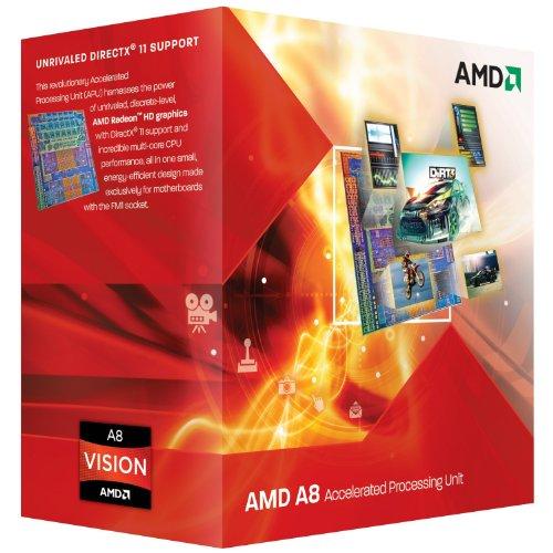 AMD A Series A8-3500M 1.5GHz 1MB L2 procesador