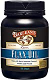 Barlean's Lignan Flax Oil Softgels with 1,550mg ALA Omega-3 Fatty Acids for Improving Heart Health - Non GMO, Gluten Free - 100 Softgels Bottle