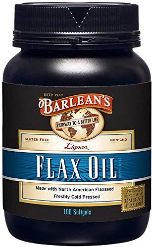 Barleans High Lignans Cápsulas de aceite de lino (100 caps)