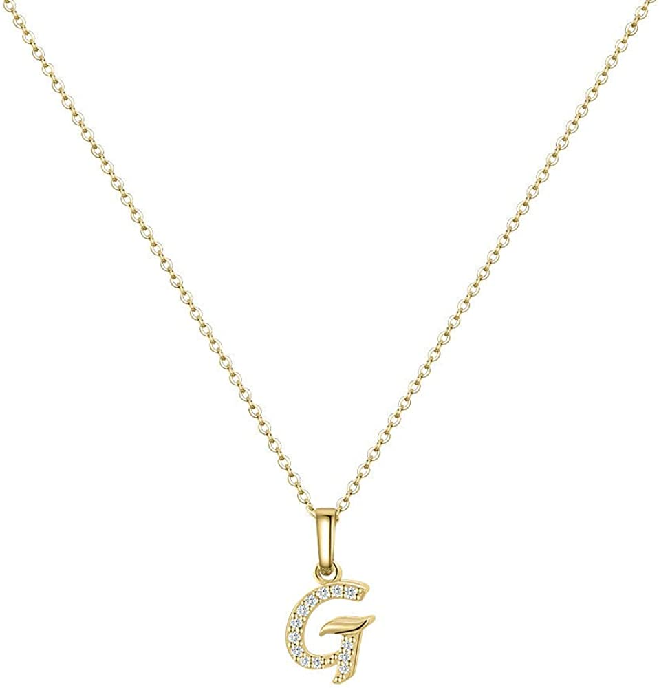 Hidepoo Initial Necklace for Women Be super welcome – Filled Gold Dainty 14k Quality inspection