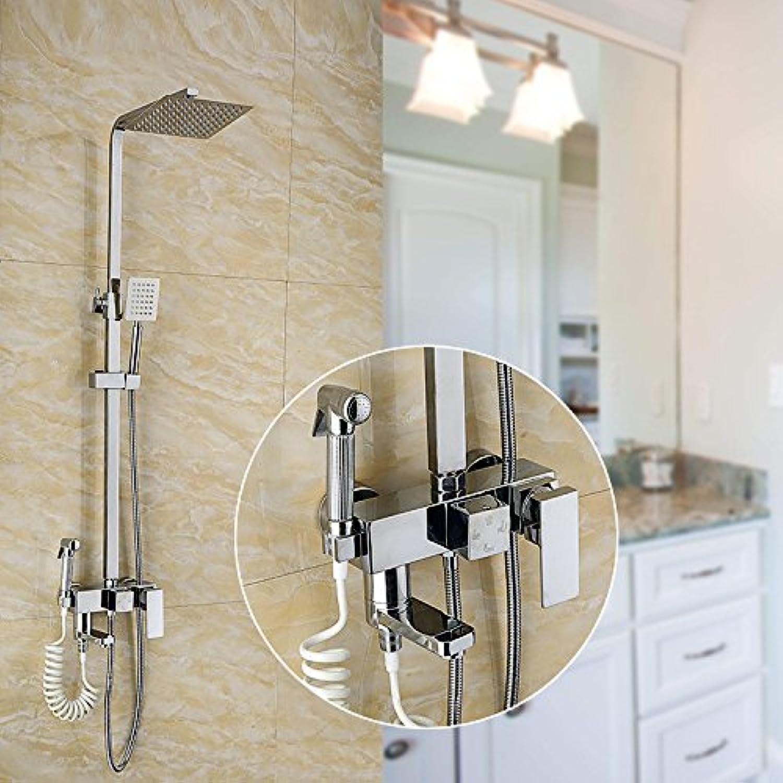 ZXYFour head shower, shower set, belt washer, shower head shower