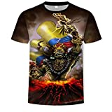 camiseta futbol iron maiden