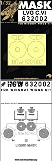 HGW 1:32 LVG C.VI for Wingnut Wings Kit - Paint Mask Detail Set #632002