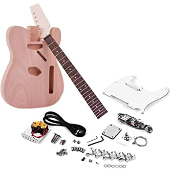 Rocktile DIYTL - Kit completo montaje de guitarra eléctrica tipo ...