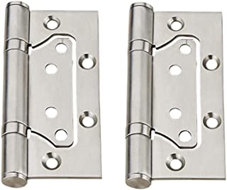 4-1//2 Width x 4-1//2 Height Pack of 24 Satin Stainless Steel Finish Don-Jo PB94545 Stainless Steel 5 Knuckle Full Mortise Plain Bearing Template Hinge