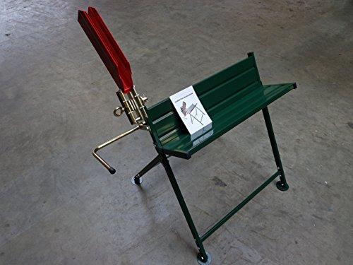 Sägebock mit Halterung für die Kettensäge Elektro oder Benzin, sicheres Arbeiten beim sägen