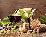 Decoración de pared para vino, frutas, bar, restaurante, cocina, pósteres e impresiones de pared, lienzo de caligrafía, sin marco. (Color: 8, tamaño: 30 x 24 cm, sin marco)