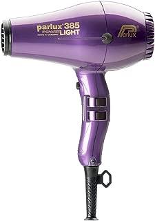 Parlux 385 Powerlight Ceramic & Ionic 2150W Hair Dryer, Violet, 710 g