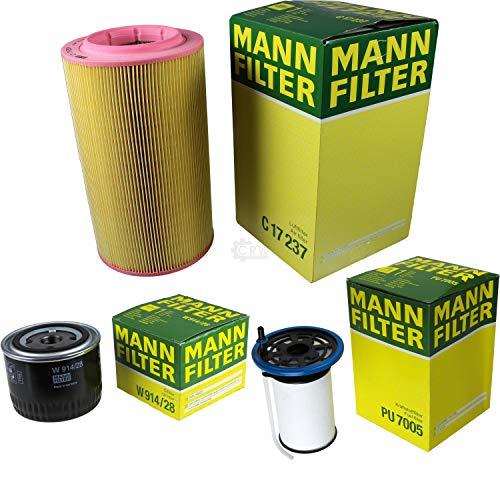 MANN-FILTER Inspektions Set Inspektionspaket Luftfilter Ölfilter Kraftstofffilter