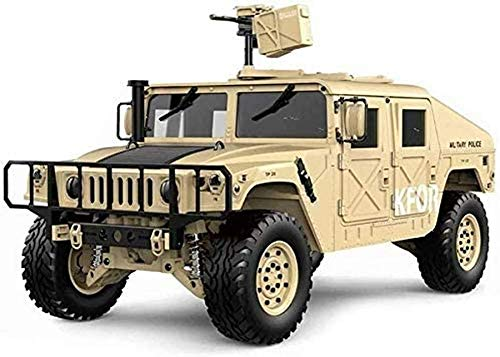 Sports Outdoors 1/10 High Simulation RC Hummer Car 2.4G 4WD 16CH 30km...