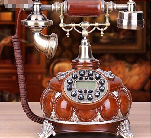 YMKUY@,teléfono con cable, antigüedades / arte / teléfono antiguo, retro silla teléfonos fijos de lujo de estilo europeo