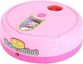 Play House Small Appliances Sweeper Toy, Educational Toy Mini Clean Toy Electric Toy, for Kids Toddlers Baby Children(Pink)