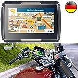 NavGear - Navigatore per bicicletta TourMate N4, navigatore per moto, auto e outdoor con Germania (sistemi di navigazione)