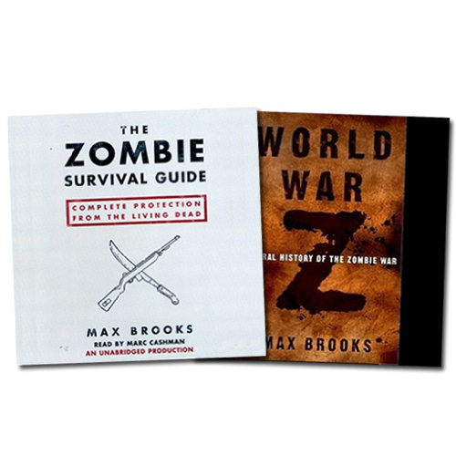 World War Z & The Zombie Survival Guide audiobook cover art