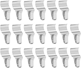 WISH Vinyl Siding Hooks (20 Pack), Stainless Steel Vinyl Siding Clips No-Hole Hooks for Hanging Decorations