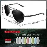 Zoom IMG-2 chereekiocchiali da sole occhiali aviatore