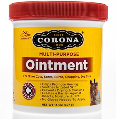 MannaPro 14 oz Corona Multi Purpose Ointment for Minor Cuts Sores Burns CHapping and Dry Skin product image