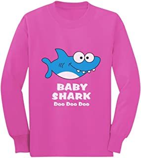 Baby Shark Song Doo doo doo Family Dance for Boy Girl Toddler/Kids Long Sleeve T-Shirt