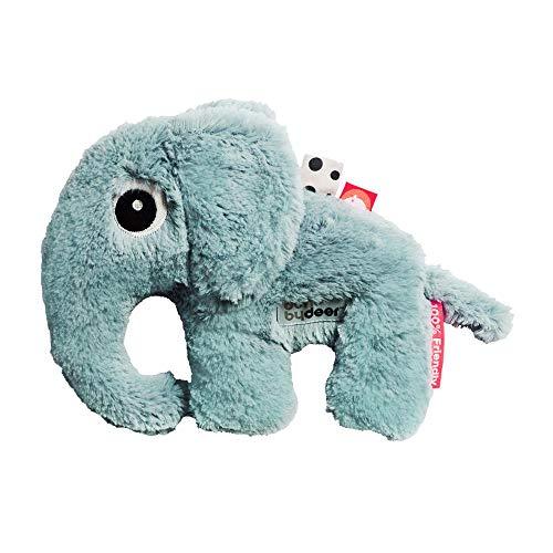 Klein knuffeldier elphee olifant, blauw, Done by Deer