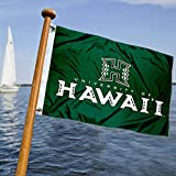 College Flags & Banners Co. Hawaii Warriors Boat and Nautical Flag