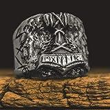 DSBN Fils D'Odin Thor Marteau Biker Bague Viking Mens Rune Amulette Rune Anneaux Nordique Bijoux Cadeau pour Lui 9