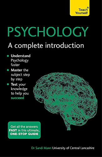 Compare Textbook Prices for Psychology: A Complete Introduction  ISBN 9781473609303 by Mann, Sandi